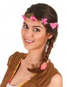 Hippie Blumenkranz Haarschmuck bunt