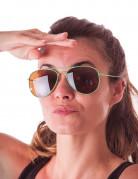 Stylishe Piloten Sonnenbrille für Erwachsene grün
