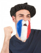 Fußball Fanbart Frankreich blau-weiss-rot
