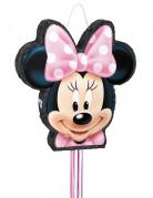 Lizenzartikel Minnie Piñata schwarz-pink