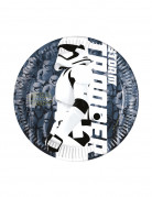 Lizenzartikel Star Wars VII Pappteller Durchmesser 8 Stück 20cm