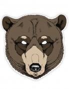 Pappmaske Bär