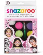 Lizenzartikel Snazaroo Schminkpalette Make-up Schminkset mit Zubehör bunt