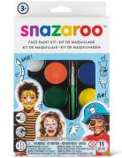 Lizenzartikel Snazaroo Schminkpalette Make-up Set mit Zubehör bunt