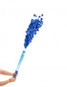 Lange Fetzen Konfettikanone Party Bombe blau