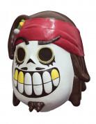 Tag der Toten Piraten-Maske Calaveritas bunt