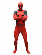 Marvel Deadpool Value Morphsuit Lizenzware rot-schwarz
