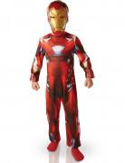 Marvel Civil War Iron Man Kinderkostüm Lizenzware rot-gold