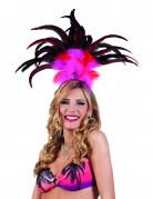 Brasilien-Kopfschmuck für Damen pink