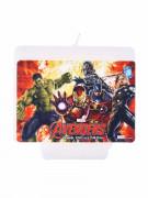 Geburtstagskerze Avengers: Age of Ultron™ Party-Deko weiss-bunt
