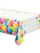 Tischdecke - Luftballons in weiß/bunt
