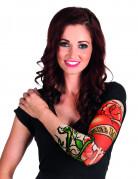 Tattoo-Ärmel True Love Kostümaccessoire bunt