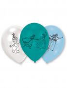 Luftballons Lizenzartikel Die Eiskönigin 6 Stück blau