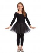 Ballettröckchen für Mädchen - schwarz