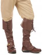 Stiefelüberzieher für Erwachsene braun
