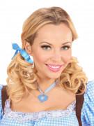Halskette Oktoberfest blau-weiss