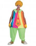 Clown Kostüm für Erwachsene bunt