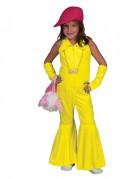 70er Jahr Overall für Kinder neongelb