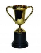 Trophäe Pokal gold-schwarz 25cm