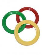 Jonglier Ringe Zirkus 3 Stück bunt