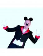 Maus Accessoire Set für Erwachsene 3-teilig schwarz-weiss