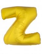 Riesen-Luftballon Buchstaben-Ballon Z gold 1m