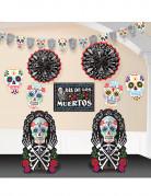 Tag der Toten Halloween-Deko-Set 10-teilig bunt