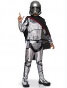 Captain Phasma Star Wars™-Kinderkostüm Lizenzartikel grau-schwarz