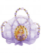 Rapunzel-Krone für Mädchen Lila mit Gold