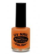 Nagellack UV-aktiv leuchtend orange 10ml