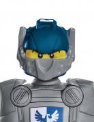 Clay Nexo Knights Lego Kinder-Maske grau-blau