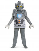 Lance Nexo Knights Lizenz-Kinderkostüm Lego Kostüm grau-gelb-blau