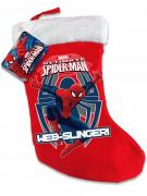Weihnachtsstrumpf Spiderman™ rot-blau-weiß