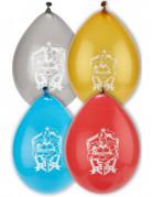 Luftballons Ritter 8 Stück bunt