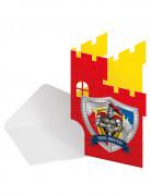 Ritter-Briefpapier 8 Stück