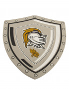 Ritterschild für Kinder silber