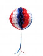 Wabenball Frankreich-Fanartikel blau-weiss-rot 27cm