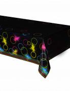 Kunststofftischdecke Glow-Party