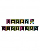 Geburtstags-Girlande 270 cm schwarz