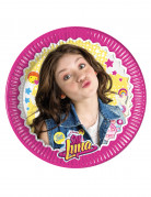 Soy Luna™-Pappteller 8 Stück 19.5cm