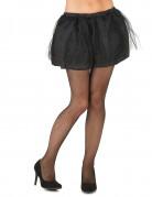 Petticoat mit Tüll für Damen schwarz