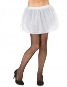 Minirock mit Tüll für Damen Petticoat weiß