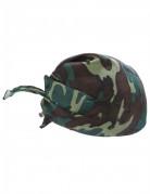 Bandana Camouflage für Erwachsene braun-grün-schwarz