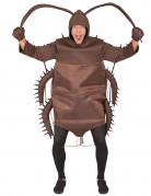 Kakerlaken-Kostüm Insektenkostüm braun-schwarz
