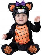 Kätzchen Kostüm Katze für Babys schwarz-orange