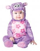 Nilpferd Hippo Kostüm für Babys lila