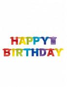 Girlande Happy Birthday bunt 219 cm