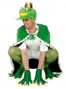 Froschkönig Märchen Kostüm-Set 3-teilig grün