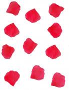 Stoff-Blütenblätter Party-Deko Blumen rot 150 Stück 18,1g