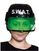 Polizei Helm S.W.A.T Helm für Kinder schwarz-weiss